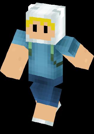 Adventure time skin minecraft skins
