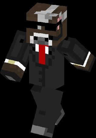Agent Cow Skin | Minecraft Skins