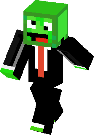 Big green derp skin