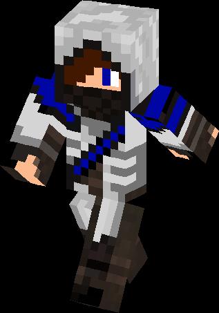Blue Boy Assasin Skin Minecraft Skins - Ninja skins fur minecraft
