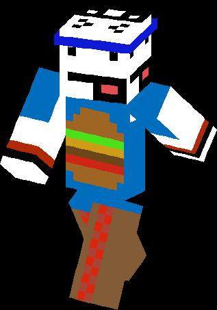 minecraft skins food