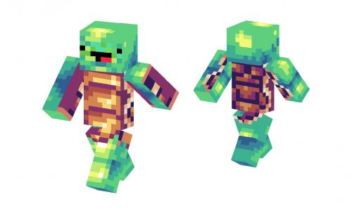 Derpy Turtle Skin Minecraft Skins