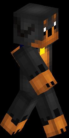 Minecraft Dog Skin