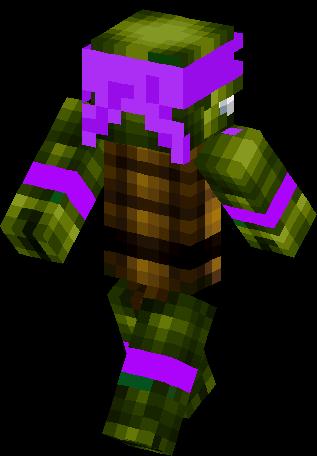 Dony Ninja Turtle Skin Minecraft Skins - Ninja skins fur minecraft
