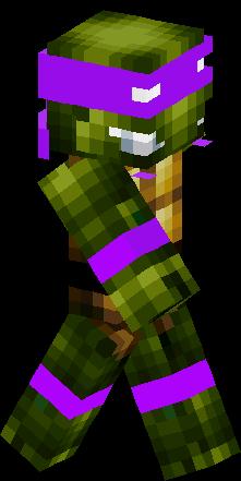 Dony Ninja Turtle Skin Minecraft Skins