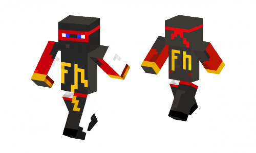 Fire Ninja Edited Skin