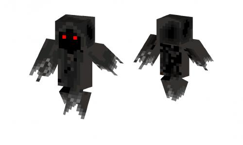 Ghost Black Skin