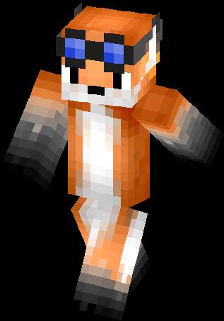 goggle fox skin minecraft skins