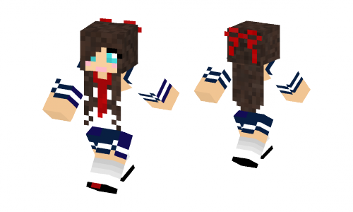 japanese school girl skin minecraft skins
