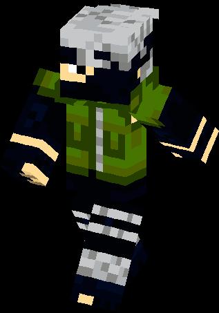 Kakashi Hatake Skin | Minecraft Skins  Kakashi Hatake ...