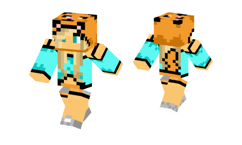 Kitty Girl Edit Skin
