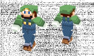 Luigi Original Skin