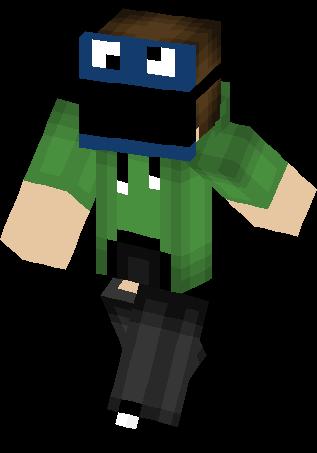 Masked Cookie Monster Skin Minecraft Skins - Monster skins fur minecraft