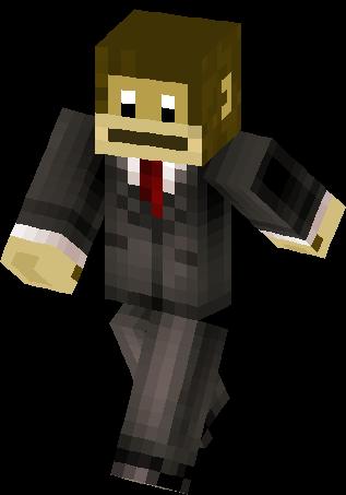 Monkey In A Suit Skin   Minecraft Skins