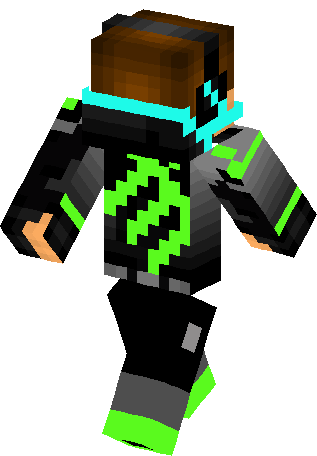 Monster Energy Green Boy Skin Minecraft Skins - Monster skins fur minecraft