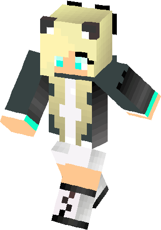 My Wolf Girl Skin Minecraft Skins