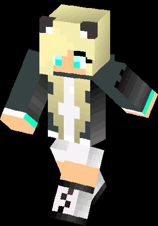 My Wolf Girl Skin Minecraft Skins