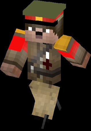 Nazi Hitler Rebooted Skin Minecraft Skins - Skins para minecraft pe hitler