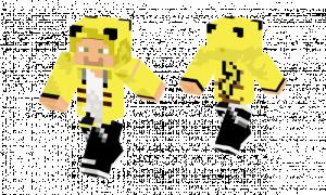 Pikachu Costume Skin
