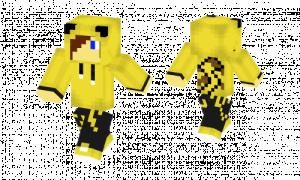 Pikachu Hoodie Skin