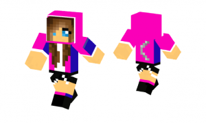 Pink Moongirl Skin