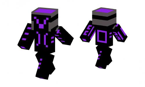 Purple knight skin minecraft skins