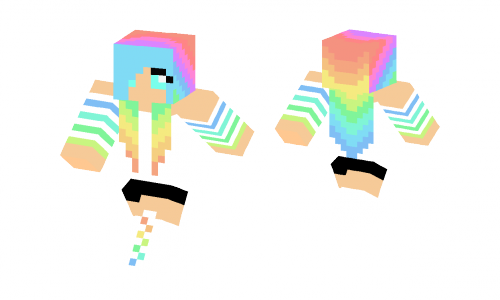 Rainbowgirl Edit Skin