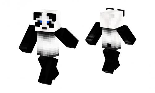 Real Life Panda Skin