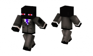 Red Eyed Endersuit Skin