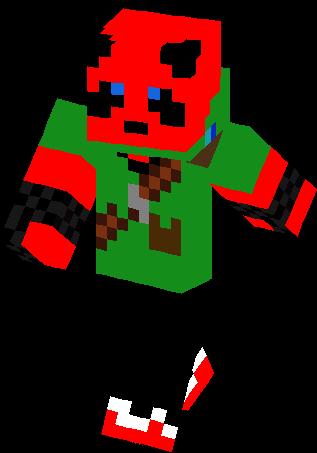Red Panda Archer Skin Minecraft Skins