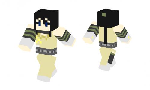 Soul Eater Tsubaki Skin