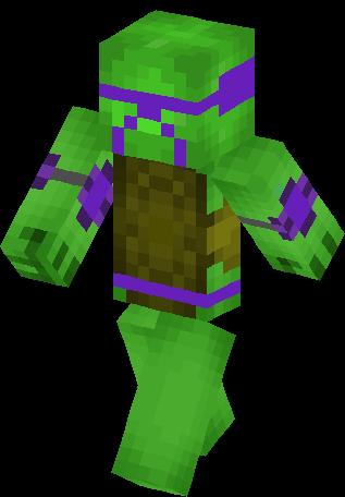 Teenage Mutant Ninja Turtle. Minecraft Skin
