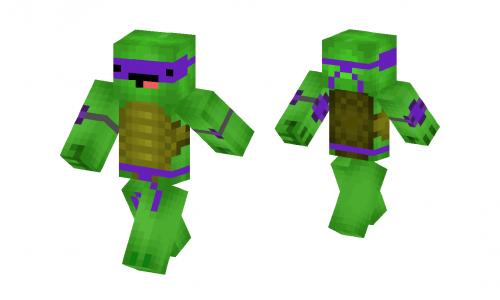 TMNT - (All 4 Turtles - Planet Minecraft Community
