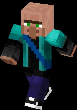 Villager Steve Skin Minecraft Skins