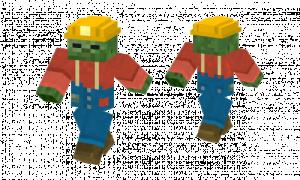 Zombie Miner Skin